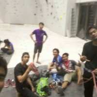 My group time climbing